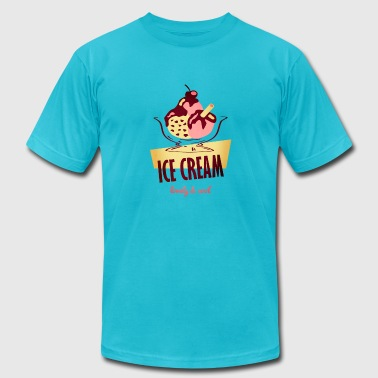 Ice Cream - lovely and cool - Men's Fine Jersey T-Shirt