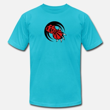 Paws Logo tiger paw logo basketball 0 - Men's  Jersey T-Shirt