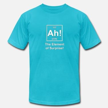 29f163555 Ah! The Element of Surprise - Men's Jersey T-Shirt