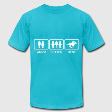 Good Better Best Good Better Best - Men's Fine Jersey T-Shirt