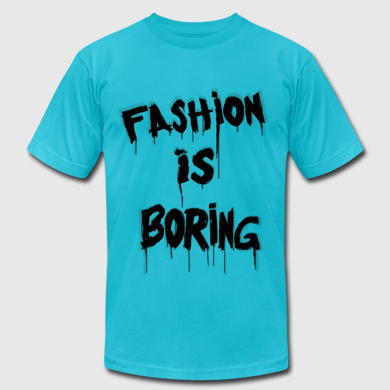 Fashion is Boring - Men's Fine Jersey T-Shirt
