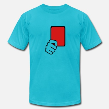 Red Card Red card Referee - Men's  Jersey T-Shirt