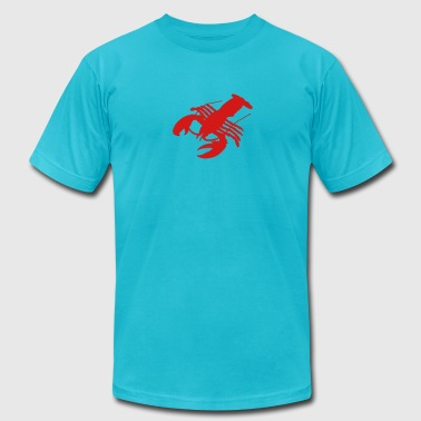 lobster Crab crawfish crayfish crustacean delicacy - Men's Fine Jersey T-Shirt