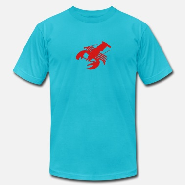 Delicacy lobster Crab crawfish crayfish crustacean delicacy - Men's  Jersey T-Shirt