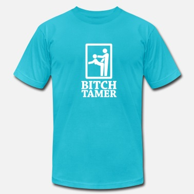 Slut Gang Bang Bitch Tamer Sign 1c - Men's  Jersey T-Shirt