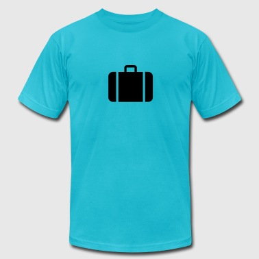 suitcase - travel - Men's Fine Jersey T-Shirt