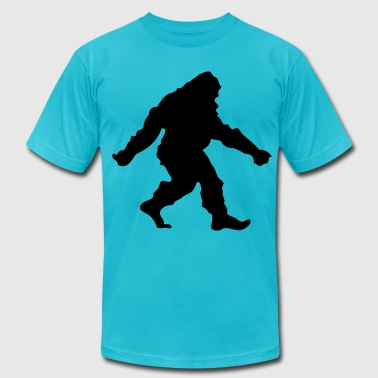 bigfoot - Men's Fine Jersey T-Shirt
