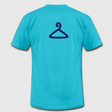 coat hanger fashion - Men's Fine Jersey T-Shirt