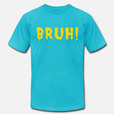 Urban Geekz BRUH! - Men's  Jersey T-Shirt