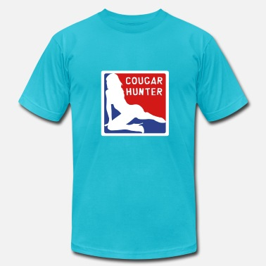 Milf Hunter Cougar Hunter 1-vec - Men's  Jersey T-Shirt