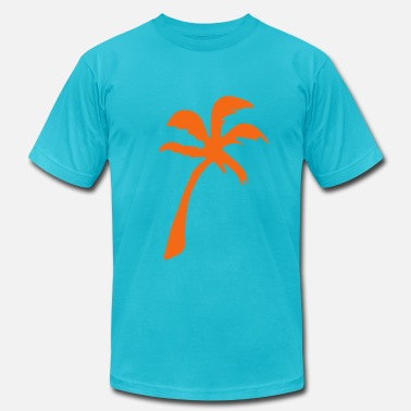 Palm Tree - Men's  Jersey T-Shirt