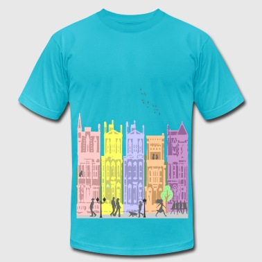 city life - Men's Fine Jersey T-Shirt