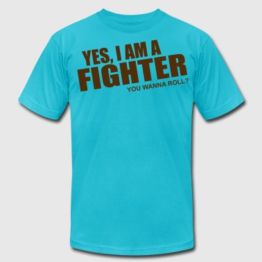 fighter - Men's Fine Jersey T-Shirt