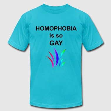 Homophobia is so Gay - Men's Fine Jersey T-Shirt