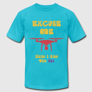 Excuse Me - Yellow - Men's Fine Jersey T-Shirt
