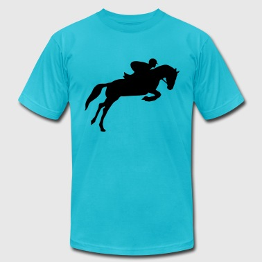 Riding, equestrian, horse - Men's Fine Jersey T-Shirt