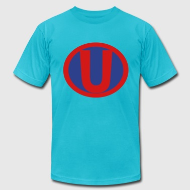 Super, Hero, Heroine, Initials, Super U - Men's Fine Jersey T-Shirt