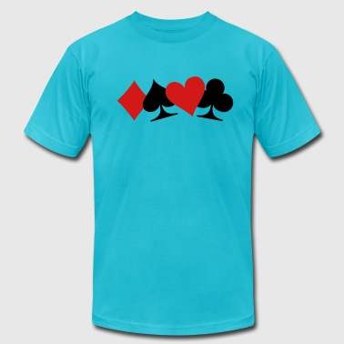 Poker - Men's Fine Jersey T-Shirt