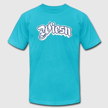 wiesn - oktoberfest - Men's Fine Jersey T-Shirt