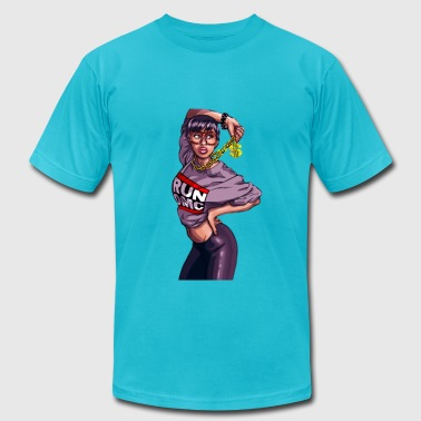 Hip hop girl - Men's Fine Jersey T-Shirt