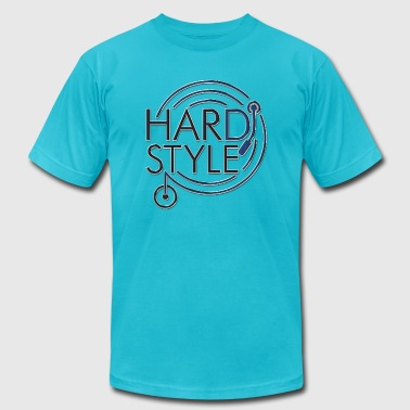 hard style DJ metal - Men's Fine Jersey T-Shirt