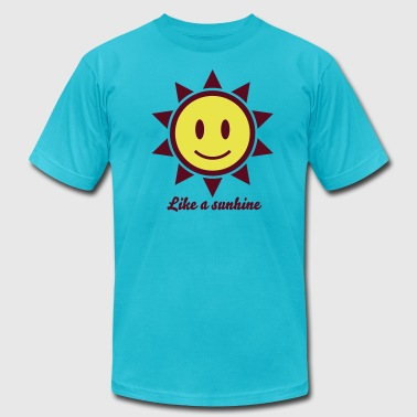 Icons Smiley Smiley Sun Icon 2c - Men's Fine Jersey T-Shirt