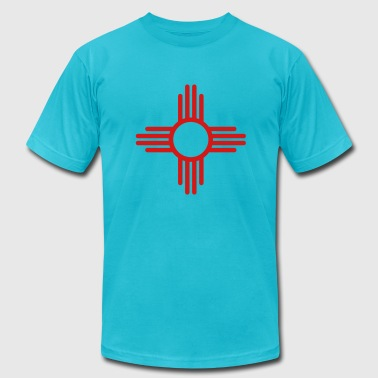 New Mexico - Men's Fine Jersey T-Shirt