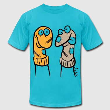 Sock Puppet (dd)++ - Men's Fine Jersey T-Shirt
