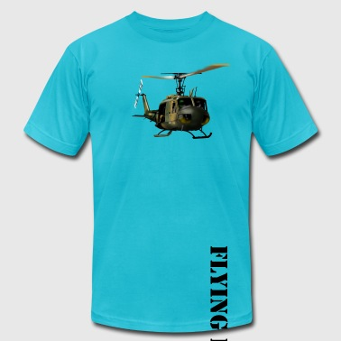 helicopter - Men's Fine Jersey T-Shirt