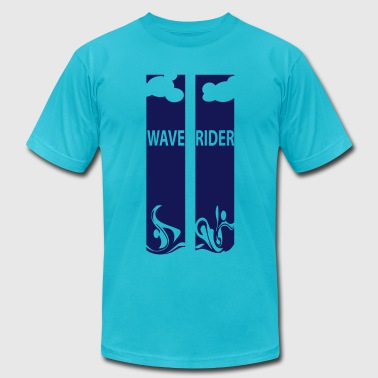 Wave Rider - Men's Fine Jersey T-Shirt