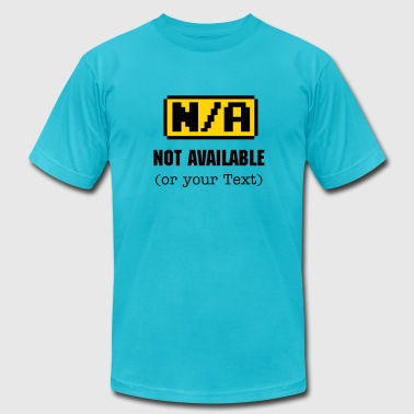 N/A - Not available Symbol 2c - Men's Fine Jersey T-Shirt