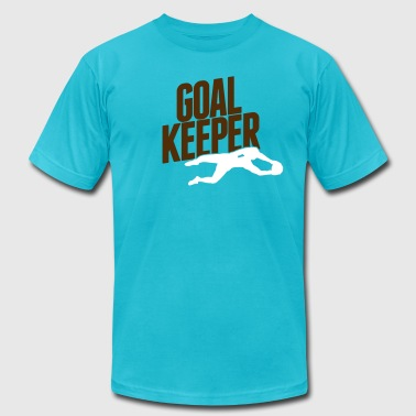 goalkeeper - Men's Fine Jersey T-Shirt