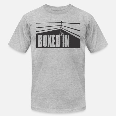 Black Box boxed in black - Men's  Jersey T-Shirt