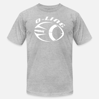 Line Football Football O Line Offensive Line Design - Men's Jersey T-Shirt
