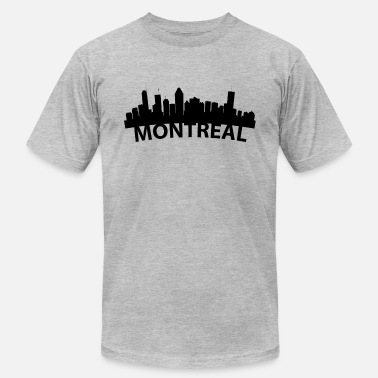 Montreal Arc Skyline Of Montreal Quebec Canada - Men's Jersey T-Shirt