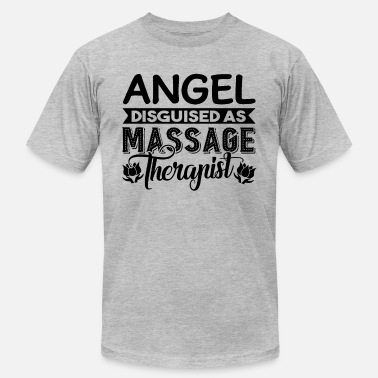 Angel In Disguise Angel Disguised As Massage Therapist - Men's  Jersey T-Shirt