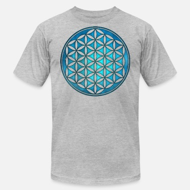 Flower of Life, Sacred Geometry, Space, Galaxy - Unisex Jersey T-Shirt