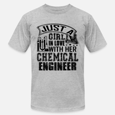 Engineering Love In Love With Chemical Engineer - Men's  Jersey T-Shirt