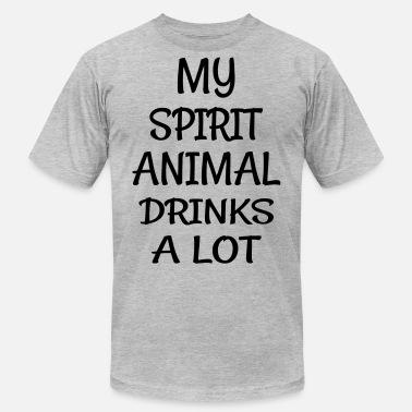 db56e685 My Spirit Animal Drinks Animal Men's Premium T-Shirt | Spreadshirt