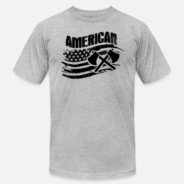 American Loggers Logger American T Shirt - Men's  Jersey T-Shirt