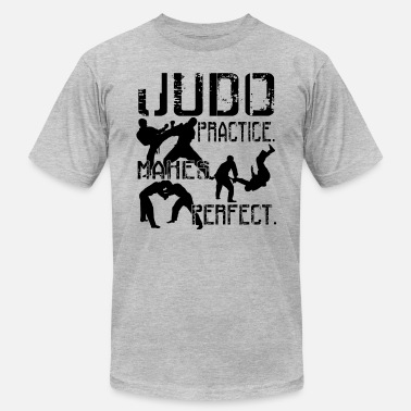 Judo Clothing Judo Shirt - Judo Practice Makes Perfect T shirt - Men's  Jersey T-Shirt