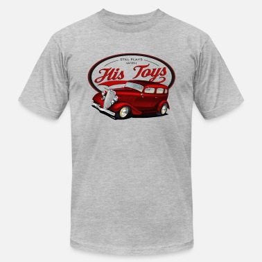 1934 Plays with his Hot rods - Unisex Jersey T-Shirt