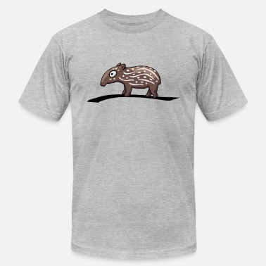 Tapir With Baby tapir baby child partnershirt funny comic gift - Men's  Jersey T-Shirt