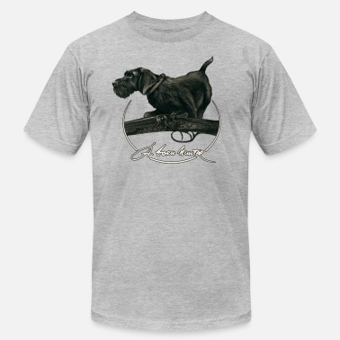 Drahthaar A Born Hunter - Men's  Jersey T-Shirt