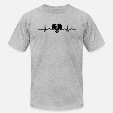 Scotland Clothes Scotland Always In My Heartbeat Shirt - Men's  Jersey T-Shirt