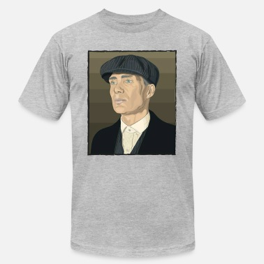 Peaky Blinders Quotes Thomas shelby peaky blinder - Men's  Jersey T-Shirt
