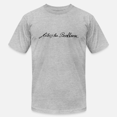 Ludwig Van Beethoven Signature of Beethoven - Men's Jersey T-Shirt