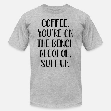 Alcohol Suit Up Alcohol Blk - Unisex Jersey T-Shirt