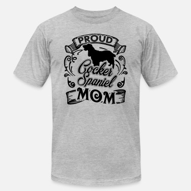 Cocker Spaniel Mom Cocker Spaniel Mom Shirt - Men's Jersey T-Shirt