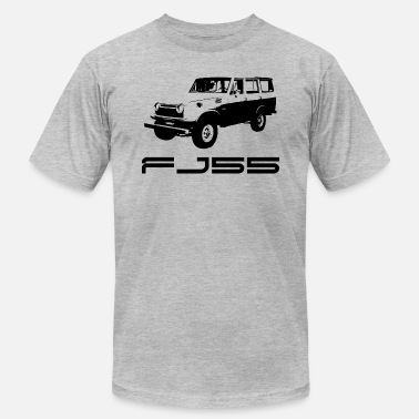 Ih8mud FJ55 BLACK LINE ART WITH LABEL - Men's  Jersey T-Shirt